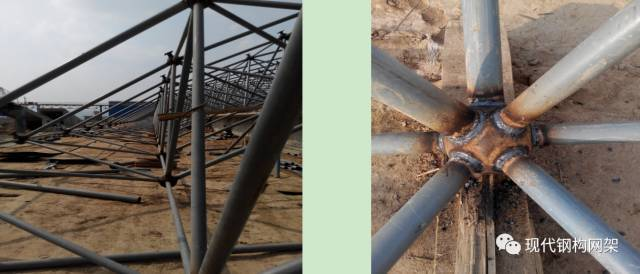 大跨度煤棚焊接球网架液压顶升施工技术_13