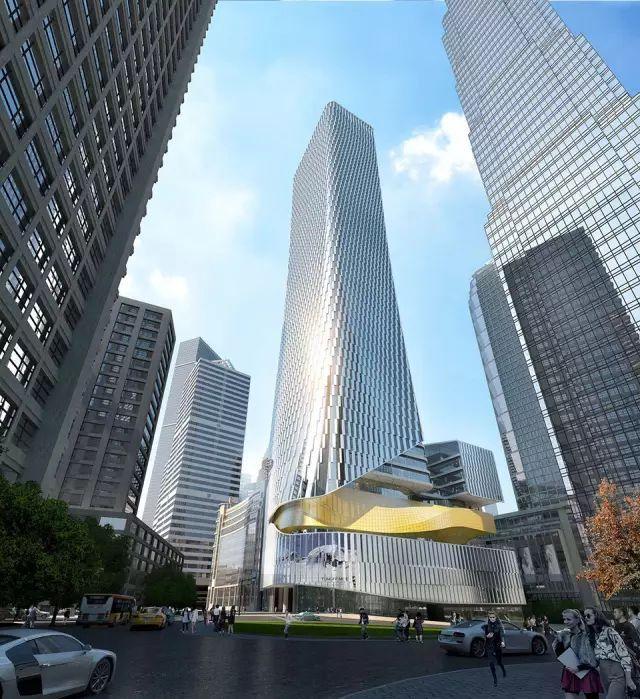 建筑设计赏析,重庆新华集团新楼,单看幕墙造型我就惊呆嘞!