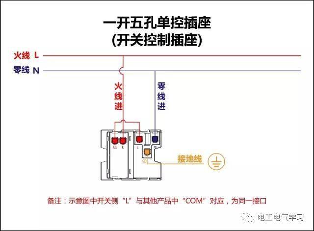 【电工必备】开关照明电机断路器接线图大全非常值得收藏!_4