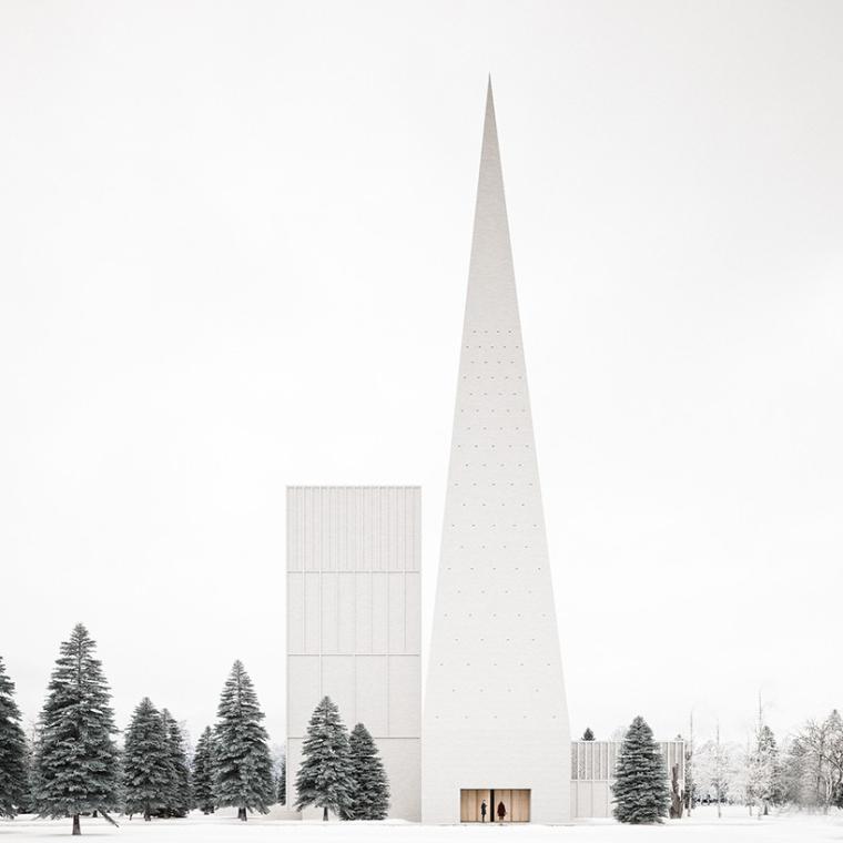 芬兰伊利诺伊州的教堂