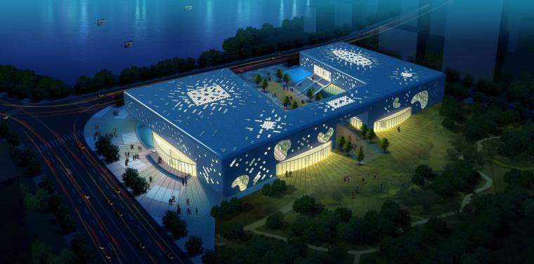 [江西]五套城乡规划展览馆及办公建筑设计方案文本