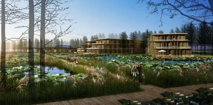 [河南]滨湖郊野生态避难型森林公园景观设计方案_2