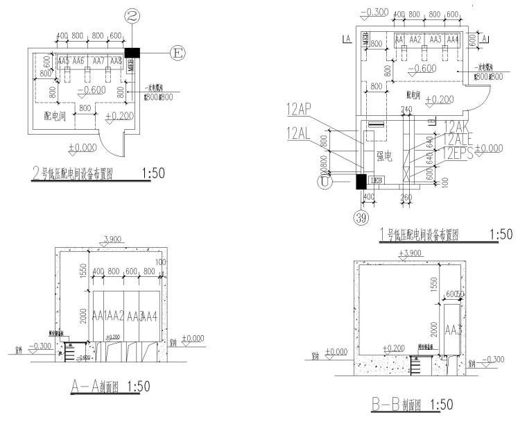 [安徽]黄山学院综合实验楼·电气施工图(含照明、弱电平面及系统图等)