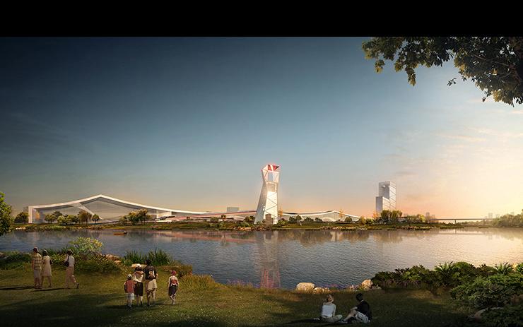 全国7大会展中心设计合集(实景图+效果图)-20