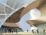 [上海]2010世博会西班牙馆建筑初步设计方案图(cad+效果图)