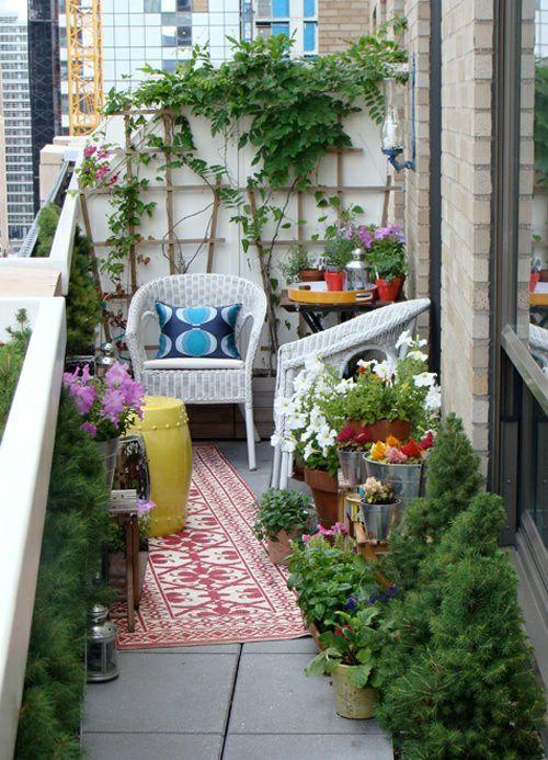 30个开放式阳台花园设计方案_22
