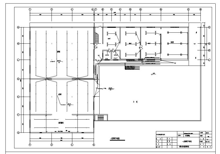 [江西]信丰烟草综合楼电气设计(照明、插座)