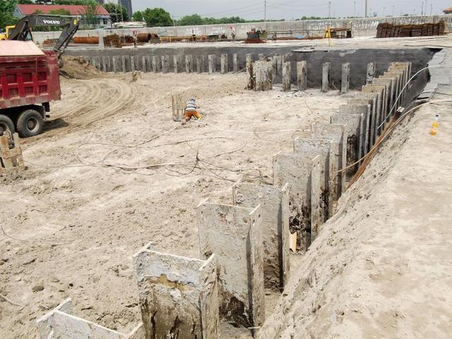 型钢水泥土搅拌墙工法讲解