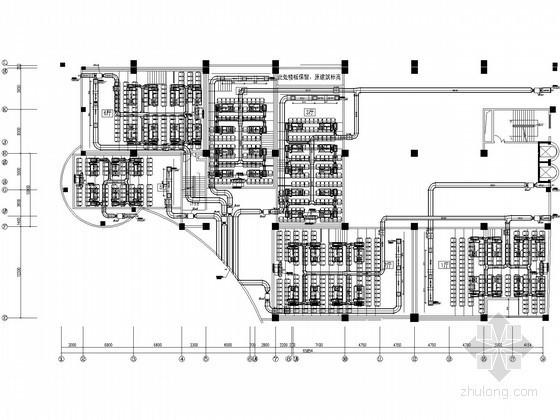[江西]数字影院空调通风设计施工图(大样图多)