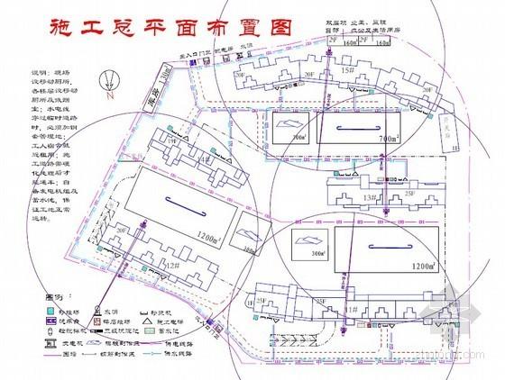 厦门某工程施工组织设计(建筑群 进度计划网络图)