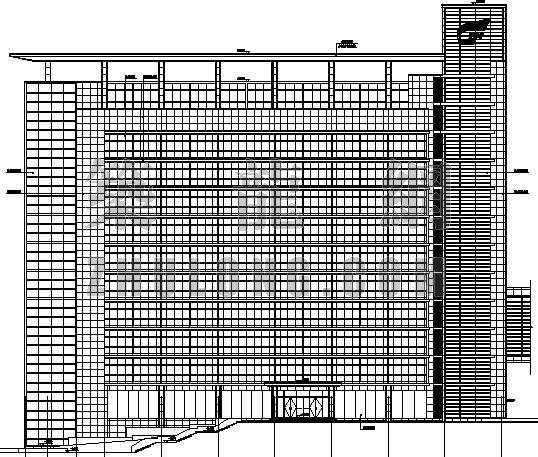 [株洲]某十层研发办公楼建筑施工图