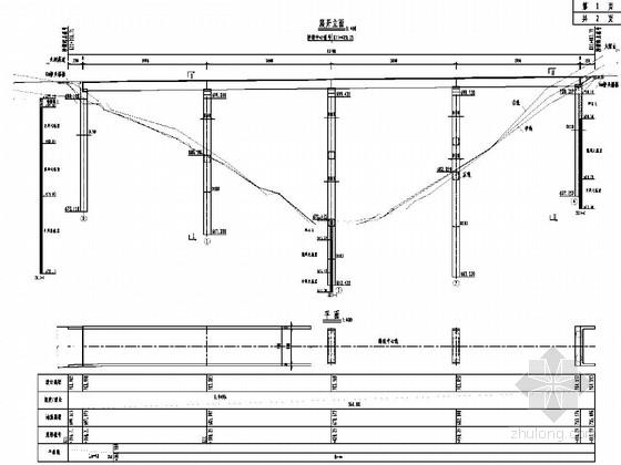4x30米預應力簡支t梁橋施工圖55張(先簡支后連續)圖片