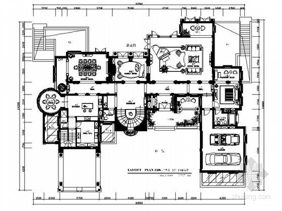 [杭州]精品花园双层欧式别墅室内装修图(含效果)