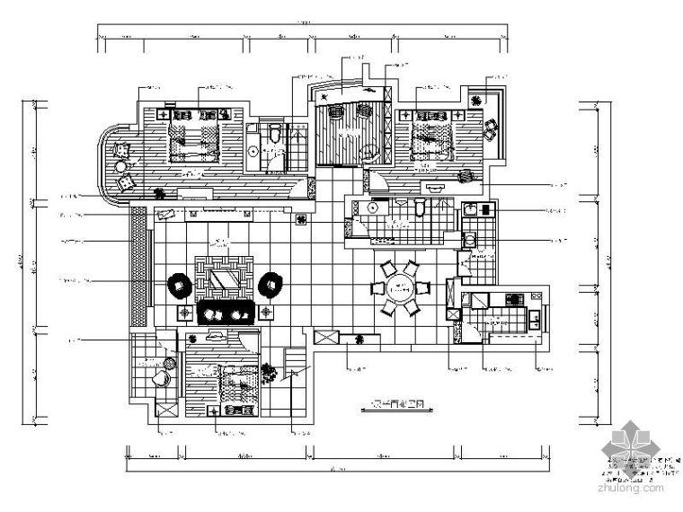 300㎡二层别墅装修图