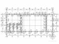 单层砖混结构厂房结构施工图