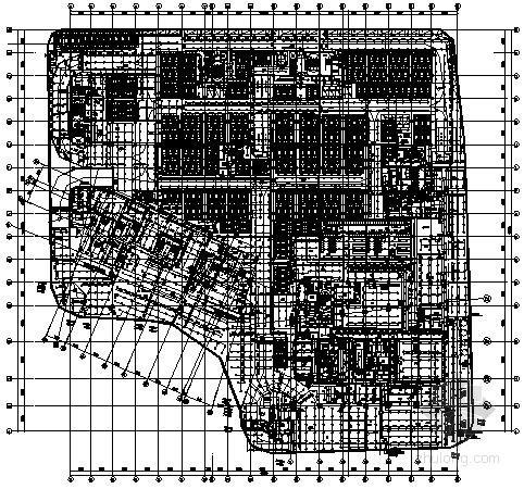 [江苏]314米商业广场给排水消防施工图纸170张(地下室、77层塔楼、40万平方米)