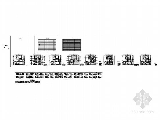 [重庆]时尚现代风格三居室室内装修施工图缩略图