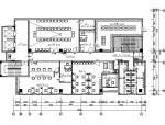 [深圳]现代轻松舒适办公楼室内设计施工图(含效果图)