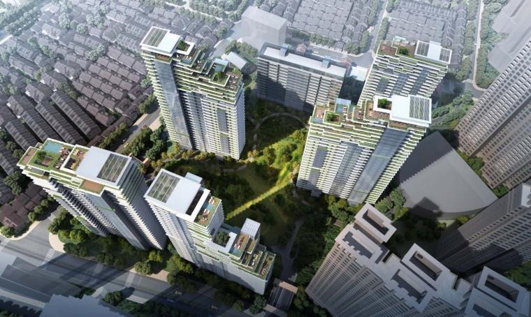 上海中信泰富集团大楼居民区的改造-1 (9)