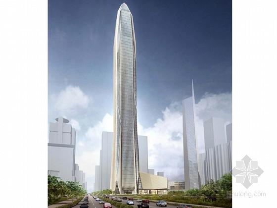 [广东]588米框筒桁架结构企业办公建筑设计方案文本(图纸齐全 推荐下载)