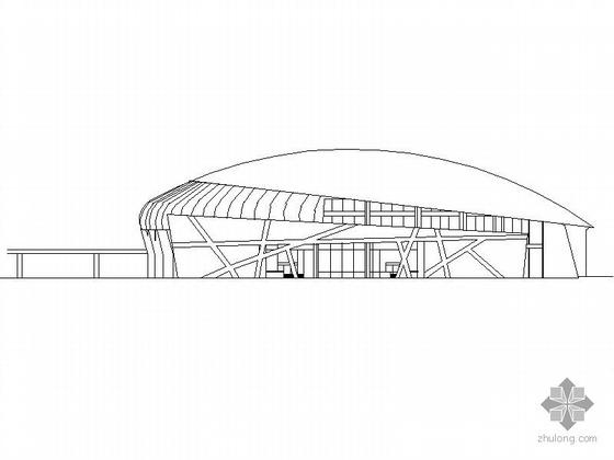 [张家界]某体育场建筑施工图