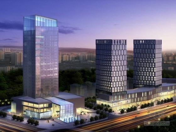 [宁波]某二十五层五星级酒店建筑设计方案文本