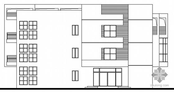 某三层幼儿园建筑设计施工图