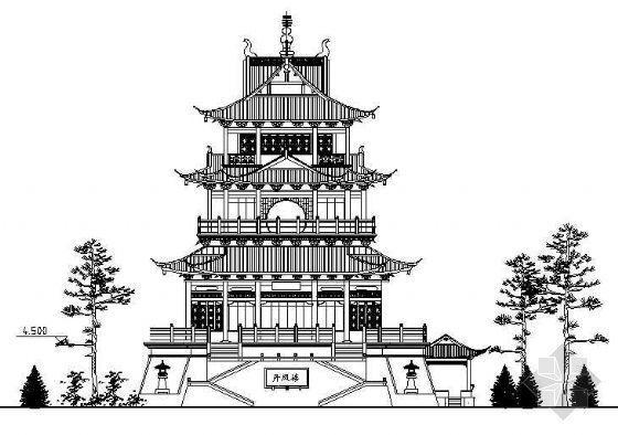 上海古城公园各类古建设计方案