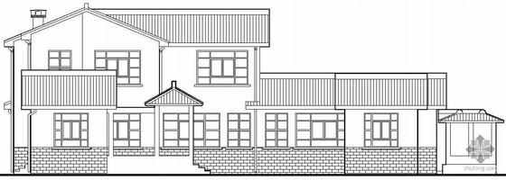 某中式二层别墅建筑结构水电施工图