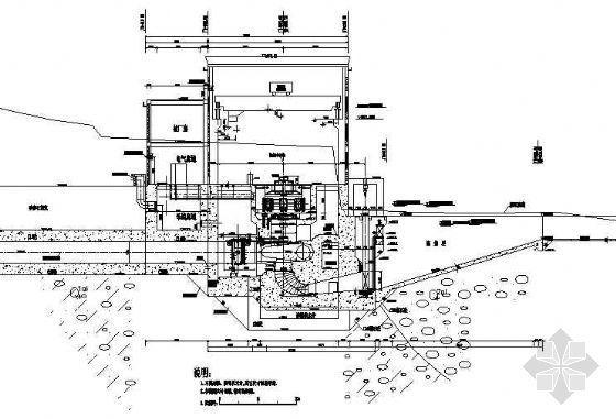 某水电站厂房结构布置图