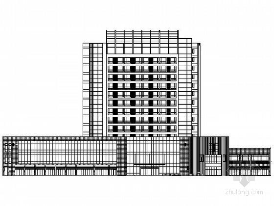 [浙江]某十四层酒店式公寓建筑施工图