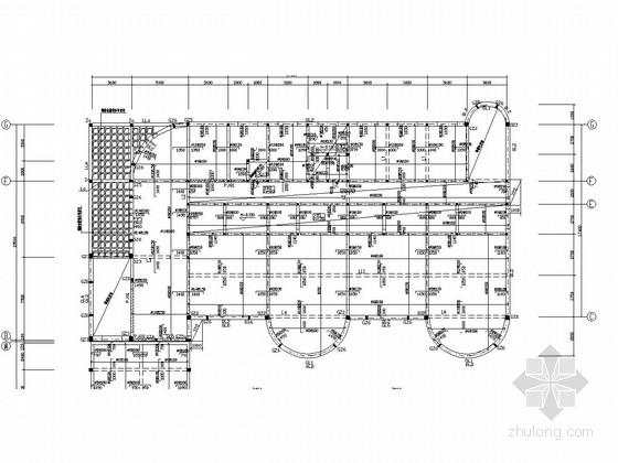 三层砌体结构幼儿园结构施工图