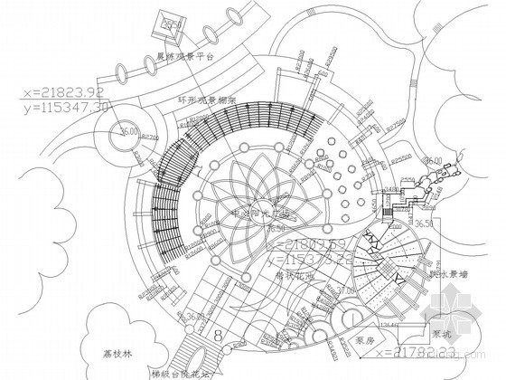 [深圳]五星级公园广场景区给排水图纸(含电气)
