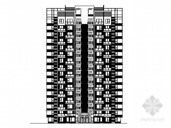 [四川省绵阳市]某十七层住宅建筑施工图