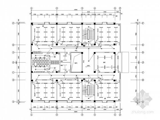 [西安]高级中学教学楼全套电气施工图纸