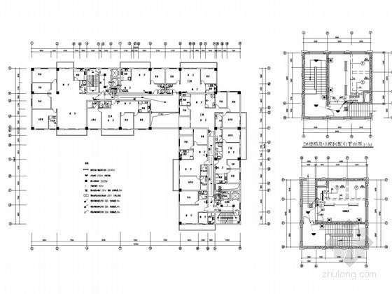 十六层商住楼全套电气施工图纸