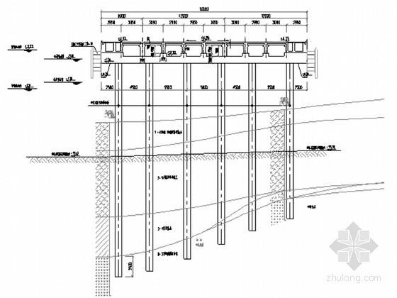 舾装码头工程现浇横梁施工方案