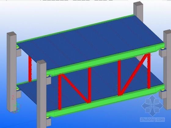 [广东]办公楼钢结构连廊专项施工方案(详细流程图 双机抬吊)