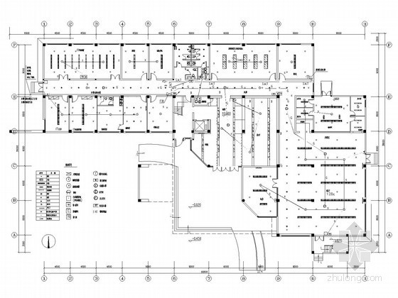 综合办公大楼弱电系统平面图