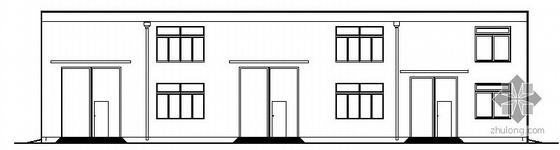 [浙江]某天然气轻烃压缩机厂房建筑方案图