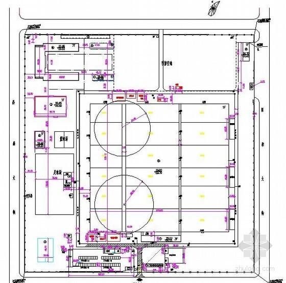 [河北]工业园区施工组织设计(进度计划、平面布置图)