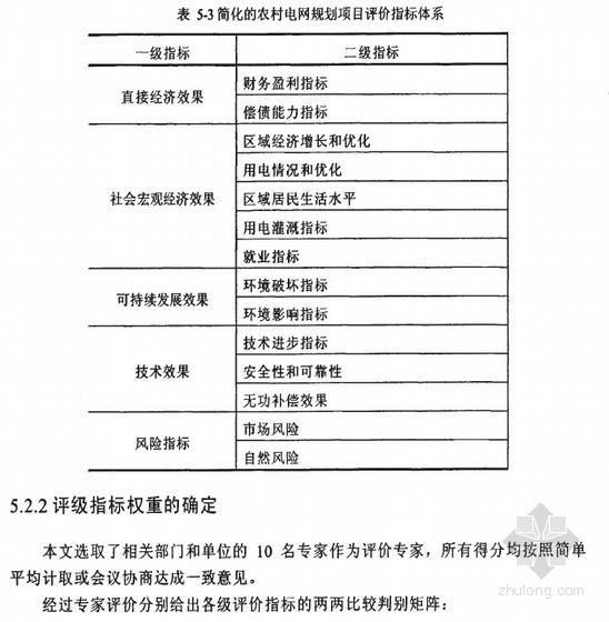 [硕士]容城县农村电网改造规划项目评估研究[2010]