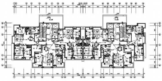 青岛某高层住宅小区电气施工图