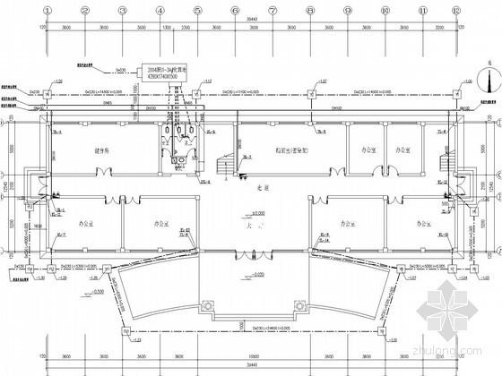 [浙江]小型办公楼给排水消防施工图