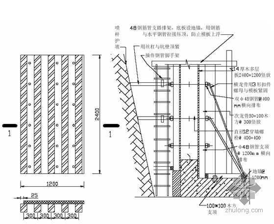 北京市某多层住宅楼施工组织设计(剪力墙、筏基)