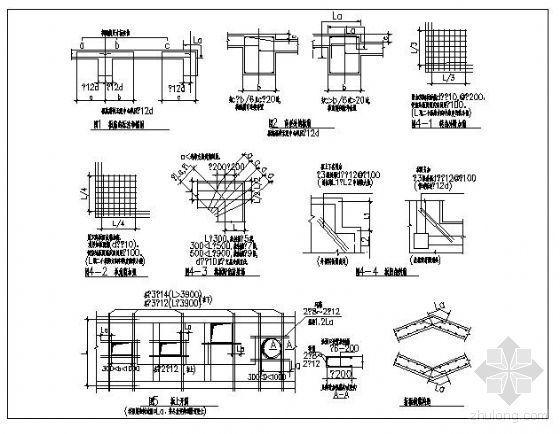板筋相关构造详图