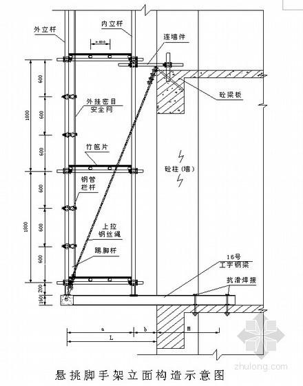 [江苏]框架剪力墙结构商住楼土建、装修施工组织设计