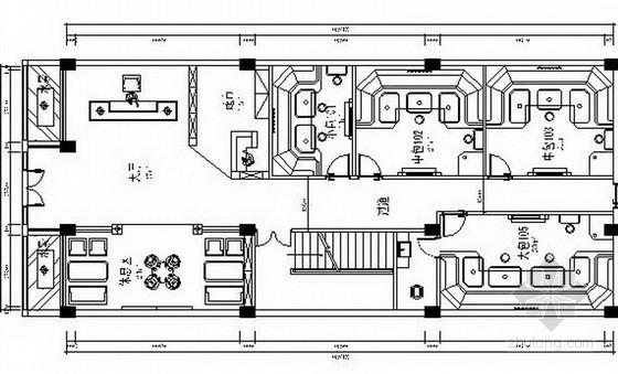 [安徽]豪华高档KTV室内设计CAD施工图
