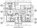 [内蒙古]低奢风格平层三居室样板房设计施工图(附效果图)