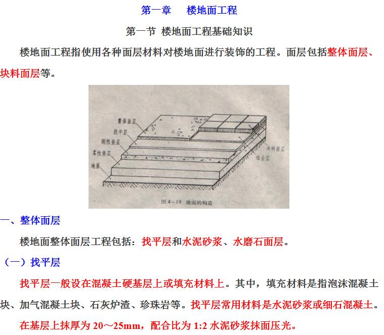 钢砼筑梦:装饰装修工程计量与计价